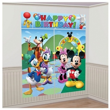 Mickey Mouse Partyware Decorations Scene Setter