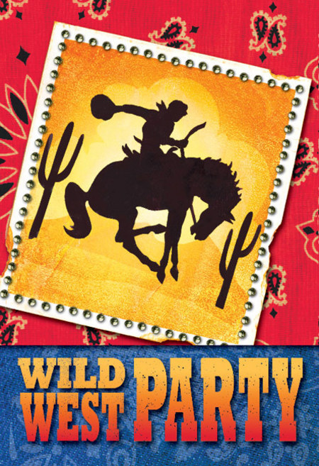 Western Party Supplies Party Supplies Perth Balloon World – Wild West Party Invites