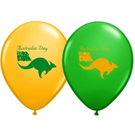 Australia Day Latex Balloons Q18561