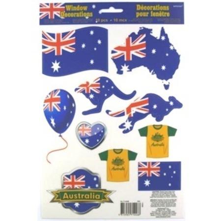 Australia Day Vinyl Window Decorations AM714468