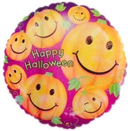 Happy Halloween Pumpkins Foil Balloon ANA20863