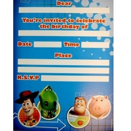 Toy Story 3 Invitations AM067205