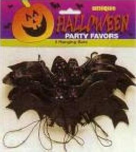 Halloween Hanging Bats Party Favours M8791