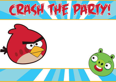 Angry Birds Party Supplies Partyware Tableware