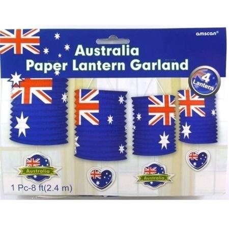 Australia Day Paper Lantern Garland AM714444