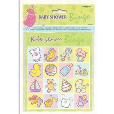 baby shower games baby shower partyware baby on the way bingo