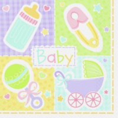 Baby Shower Tableware, Baby Shower, Baby Shower Partyware, Babyu0027s Nursery  Luncheon Napkins,