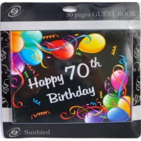 Keepsake 70th Birthday Balloons KS70M