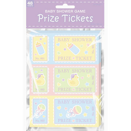 baby shower games baby shower partyware baby shower prize tickets