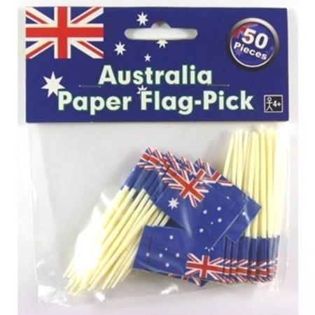 Australia Day Paper Flag Picks AM714536