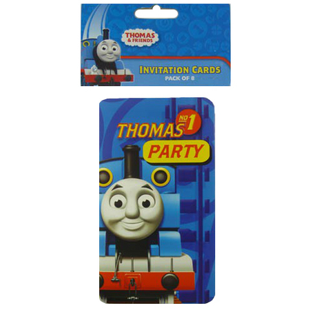 Thomas Friends Party Supplies Party Supplies Perth Balloon World – Thomas the Tank Engine Party Invites