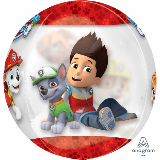 Clear Paw Patrol Chase and Marshall Orbz XL ANA34593